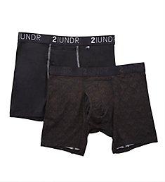 2UNDR Swing Shift 6 Inch Boxer Brief - 2 Pack 2U012B
