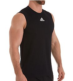 Adidas Climalite Regular Fit Sleeveless T-Shirt EK009