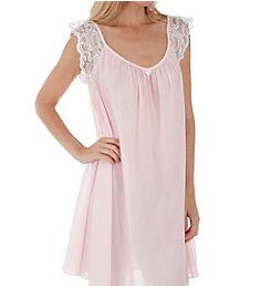Amanda Rich Lace Cap Knee Length Gown 106-SH