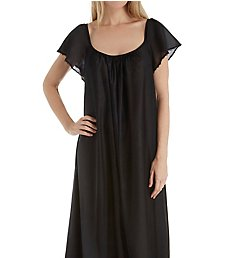 Amanda Rich Cap Sleeve Ankle Length Gown 150-SH