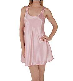 Amanda Rich Satin Bias Cut Short Gown 561D-40