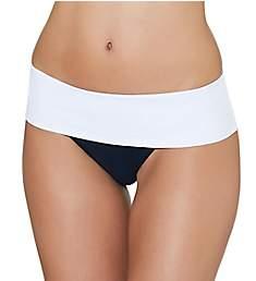 Aubade Summer Lounge Brazilian Fold Over Swim Bottom ES22