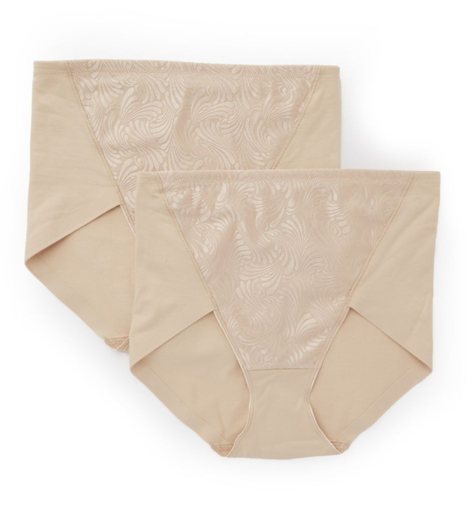 Bali Ultra Control Brief Panty - 2 Pack DF6510