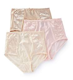 Bali Double Support Brief Panty - 3 Pack DFDBB3