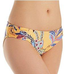 Becca Tapestry Bloom Reversible Shirred Side Swim Bottom 344397