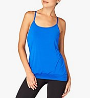 Beyond Yoga Straight Away Striped Racerback 2-Fer Tank JSP4282