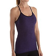 Beyond Yoga Featherweight Spacedye Slim Racer Shelf Bra Tank WSD4203