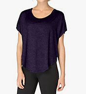 Beyond Yoga Leading Lightweight Spacedye Scalloped Tee WSD7283
