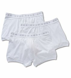 Boss Hugo Boss Essential 100% Cotton Boxer Briefs - 3 Pack 0325384