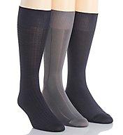 Calvin Klein Calvin Klein Microfiber Assorted Socks - 3 Pack A91149