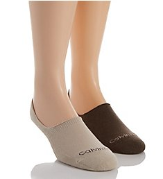 Calvin Klein Performance No-Show Sock - 2 Pack ACV378