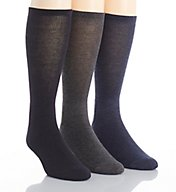 Calvin Klein Pima Cotton Blend Socks - 3 Pack ACY270