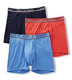 Calvin Klein Comfort Microfiber Boxer Briefs - 3 Pack NB1361