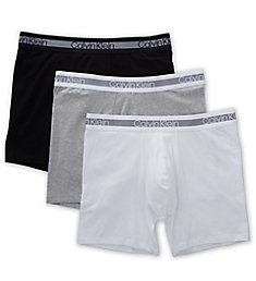 Calvin Klein Cooling Cotton Stretch Boxer Briefs - 3 Pack NB1798