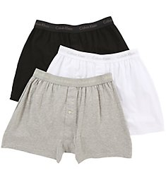Calvin Klein Cotton Classic Knit Boxer - 3 Pack NU3040