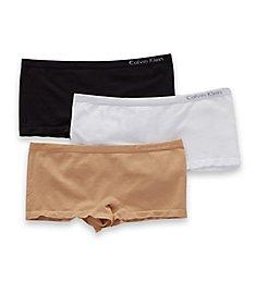 Calvin Klein Pure Seamless Boyshort Panty - 3 Pack QD3565