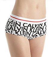 Calvin Klein Modern Cotton Exposed Logo Boyshort Panty QF1513