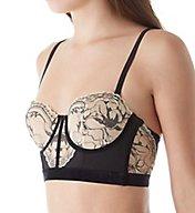 Calvin Klein CK Black Embrace Balconette Longline Multiway Bra QF1619