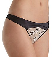 Calvin Klein CK Black Tempt Thong QF1628