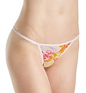 Calvin Klein Sheer Marquisette String Bikini Panty QF1682