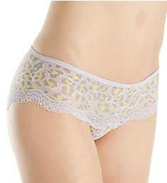 Calvin Klein Sheer Marquisette with Lace Hipster Panty QF1691