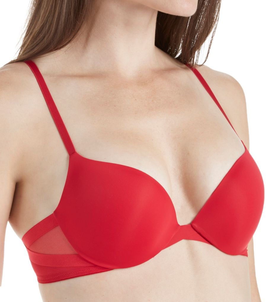 Calvin Klein Sculpted Plunge Push Up Bra QF1832