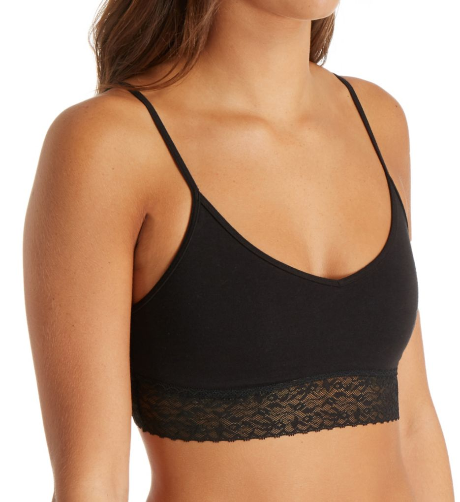Calvin Klein Bare Lace Unlined Cotton Bralette QF4045