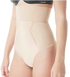 Calvin Klein Sculpted Shapewear High Waist Thong QF4262