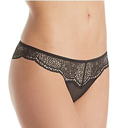Calvin Klein CK Crackled Lace Brazilian Panty QF4969