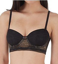 Calvin Klein CK Crackled Lace Lightly Lined Strapless Bra QF4970