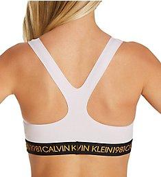 Calvin Klein 1981 Bold Cotton Unlined Bralette QF5577