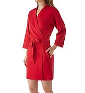 Calvin Klein Harmony Quilted Robe QS5515