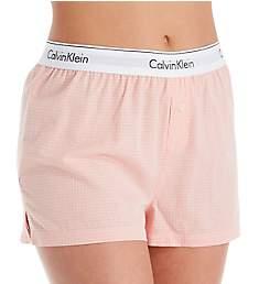 Calvin Klein Woven Cotton Sleep Short QS6080