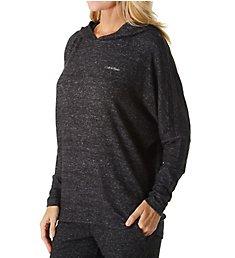 Calvin Klein Sophisticated Jersey Long Sleeve Hoodie QS6271