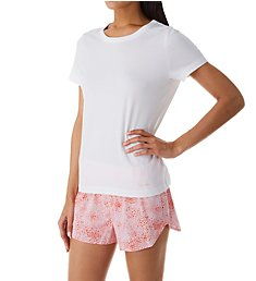 Calvin Klein PJ in a Bag Short Sleeve Top & Shorts PJ Set QS6479
