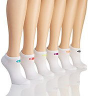Champion Core Performance Double Dry Low Cut Socks - 6 Pair CH615