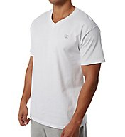 Champion Cotton Jersey Athletic Fit V-Neck Tee T4651