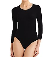 Commando Ballet Body 3/4 Sleeve Thong Bodysuit KT013