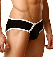 Cover Male Two Tone Trim Bikini Brief CM128