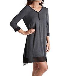 DKNY Season Silhouettes 3/4 Sleeve Sleepshirt 2319300