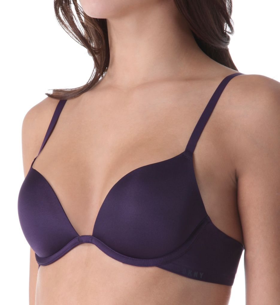DKNY Signature Smooth Plunge Push Up Bra DK1023