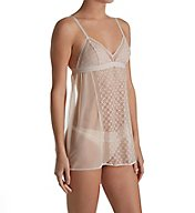 DKNY Sheer Lace Chemise and G-String DK2012