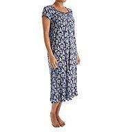 Eileen West Midnight Cap Sleeve Waltz Nightgown 5016082