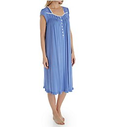 Eileen West Night Blue Modal Waltz Nightgown 5019862