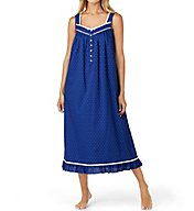 Eileen West Sail Away Cotton Woven Ballet Nightgown 5216163