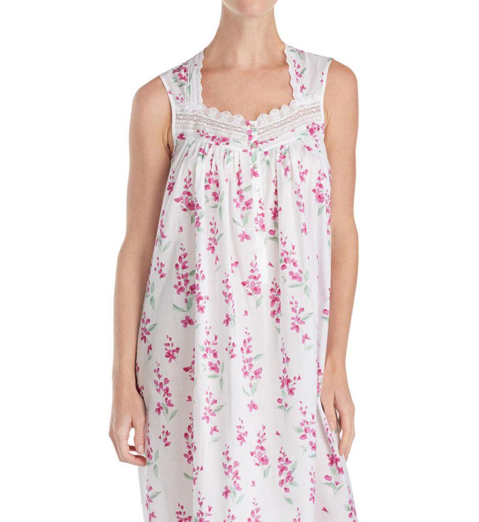 Eileen West Pink Floral Ballet Nightgown 5219881