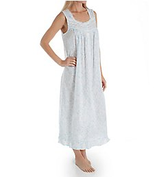 Eileen West Scroll Cotton Lawn Sleeveless Ballet Nightgown 5219951