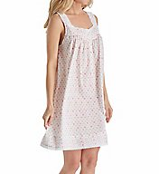 Eileen West Daisy Bouquet Cotton Lawn Short Chemise 5316168