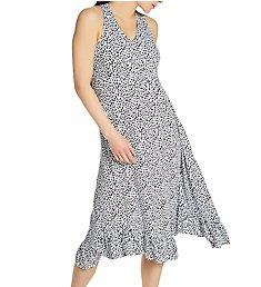 Ellen Tracy Bloom Sleeveless Midi Gown with Shelf Bra 8222973