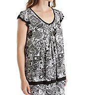 Ellen Tracy Yours to Love Short Sleeve Top 8415331